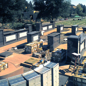 Engineered for modular columbarium design